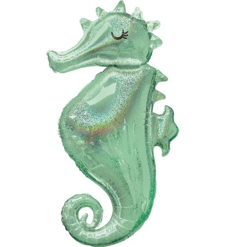 Mermaid Wishes Seahorse SuperShape